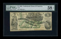 Confederate Notes:1862 Issues, T45 $1 1862. Cr 342 PF-2. ...