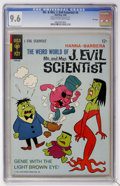Silver Age (1956-1969):Humor, Mr. & Mrs. J. Evil Scientist #4 File Copy (Gold Key, 1966) CGCNM+ 9.6 Cream to off-white pages....