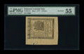 Colonial Notes:Delaware, Delaware May 1, 1777 3d PMG About Uncirculated 55....
