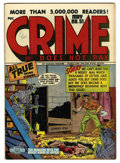 "Golden Age (1938-1955):Crime, Crime Does Not Pay #51 Davis Crippen (""D"" Copy) pedigree (Lev Gleason, 1947) Condition: VF...."