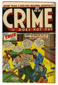 "Golden Age (1938-1955):Crime, Crime Does Not Pay #56 Davis Crippen (""D"" Copy) pedigree (Lev Gleason, 1947) Condition: VF+...."