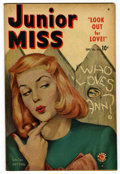 "Golden Age (1938-1955):Romance, Junior Miss #36 Davis Crippen (""D"" Copy) pedigree (Timely, 1949)Condition: VF+...."