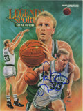 Basketball Collectibles:Others, Larry Bird Signed Periodical. It is appropriate that Larry Bird'ssignature appears on the cover of the 1993 Legends Spor...