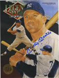 Autographs:Others, Mickey Mantle Signed Periodical. From 1993 we offer this specialcollector's issue of the 50th cover employed by the Lege...