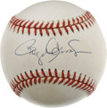 Autographs:Baseballs, Roger Clemens Single Signed Baseball. The Rocket is set to returnto the majors again this year, this time donning New York...