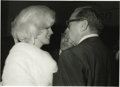 Movie/TV Memorabilia:Photos, Marilyn Monroe Picture and Negative. Jack Benny was the host of theMadison Square Garden birthday celebration for JFK in 19... (Total:1 Item)