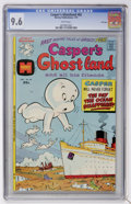 Bronze Age (1970-1979):Cartoon Character, Casper's Ghostland #82 File Copy (Harvey, 1975) CGC NM+ 9.6 Whitepages....