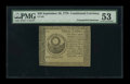 Colonial Notes:Continental Congress Issues, Continental Currency September 26, 1778 $30 PMG About Uncirculated 53....