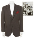 Movie/TV Memorabilia:Costumes, Robert Young's Screen-Worn Sport Coat with Father Knows BestCast-Signed Photo.... (Total: 2 Items)