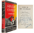 Movie/TV Memorabilia:Autographs and Signed Items, God Is My Co-Pilot Cast-Signed Book....