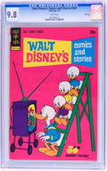 Bronze Age (1970-1979):Cartoon Character, Walt Disney's Comics and Stories #392 File Copy (Gold Key, 1973)CGC NM/MT 9.8 White pages....