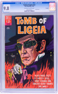 Silver Age (1956-1969):Horror, Movie Classics: Tomb of Ligeia - File Copy (Dell, 1965) CGC NM/MT9.8 Off-white to white pages....