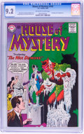 Silver Age (1956-1969):Mystery, House of Mystery #142 (DC, 1964) CGC NM- 9.2 Off-white to whitepages....