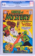 Silver Age (1956-1969):Science Fiction, House of Mystery #147 (DC, 1964) CGC VF/NM 9.0 Off-white pages....