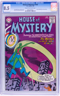 Silver Age (1956-1969):Science Fiction, House of Mystery #148 (DC, 1965) CGC VF+ 8.5 Cream to off-white pages....
