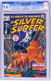 The Silver Surfer #8 (Marvel, 1969) CGC NM+ 9.6 White pages