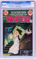 Bronze Age (1970-1979):Horror, House of Mystery #210 (DC, 1973) CGC NM 9.4 Off-white to whitepages....