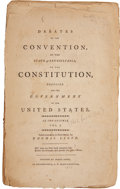 Books:Non-fiction, Debates of the Convention of the State of Pennsylvania, on the Constitution, Proposed for the Government of the United State...