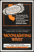 "Movie Posters:Sexploitation, Moonlighting Wives (Craddock Films, 1966). One Sheet (27"" X 41"").Sexploitation.. ..."