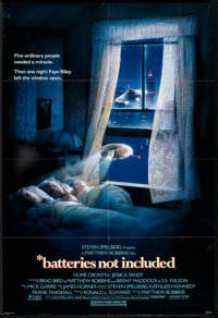 "Batteries Not Included (Universal, 1987). One Sheet (27"" X 41"") and Program (4.5"" X 11""). Fantasy..."