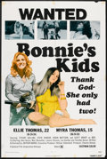 "Movie Posters:Bad Girl, Bonnie's Kids Lot (General Film, 1972). One Sheets (2) (27"" X 41"").Bad Girl.. ... (Total: 2 Items)"