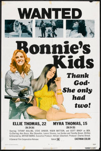 """Bonnie's Kids Lot (General Film, 1972). One Sheets (2) (27"""" X 41""""). Bad Girl. ... (Total: 2 Items)"""
