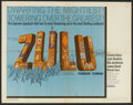 "Movie Posters:War, Zulu (Embassy, 1963). Half Sheet (22"" X 28""). War.. ..."