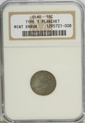 Errors, ND 10C No Date Issues Clad Type 1 Planchet NGC. NGC Census: (0/0).PCGS Population (0/0). Mintage: 255,250,000. Numismedia ...