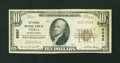 National Bank Notes:Pennsylvania, Tioga, PA - $10 1929 Ty. 1 The Grange NB Ch. # 8092. ...
