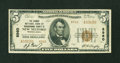 National Bank Notes:Pennsylvania, New Milford, PA - $5 1929 Ty. 2 The Grange NB of Susquehanna CountyCh. # 8960. ...