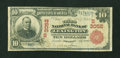 National Bank Notes:Kentucky, Lexington, KY - $10 1902 Red Seal Fr. 613 The Third NB Ch. #(S)3052. ...