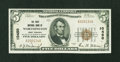National Bank Notes:West Virginia, Worthington, WV - $5 1929 Ty. 1 The First NB Ch. # 10450. ...