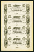 Obsoletes By State:New Jersey, Camden, NJ- The State Bank $1-$1-$1-$1 G6-G6-G6-G6 Wait 321-321-321-321 Uncut Sheet. ...