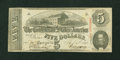 Confederate Notes:1863 Issues, T60 $5 1863 Inverted Back.. ...