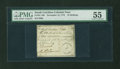 Colonial Notes:South Carolina, South Carolina November 15, 1775 10s PMG About Uncirculated 55....