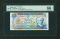 Canadian Currency: , BC-48b $5 1972. ...