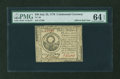 Colonial Notes:Continental Congress Issues, Continental Currency July 22, 1776 $30 PMG Choice Uncirculated 64 EPQ....