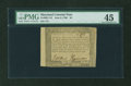 Colonial Notes:Maryland, Maryland June 8, 1780 $4 PMG Choice Extremely Fine 45....