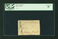 Colonial Notes:North Carolina, North Carolina April 2, 1776 $2 1/2 Hand Clasping Thirteen ArrowsPCGS Extremely Fine 45....