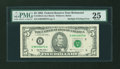 Error Notes:Doubled Third Printing, Fr. 1984-E $5 1995 Federal Reserve Note. PMG Very Fine 25.. ...