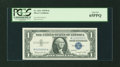 Small Size:Silver Certificates, Fr. 1621 $1 1957B Silver Certificate. Fancy Serial Number. PCGS Gem New 65PPQ.. ...