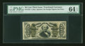 Fractional Currency:Third Issue, Fr. 1324 50¢ Third Issue Spinner PMG Choice Uncirculated 64 EPQ....