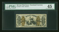 Fractional Currency:Third Issue, Fr. 1370 50¢ Third Issue Justice PMG Choice Extremely Fine 45....