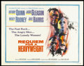 """Movie Posters:Sports, Requiem for a Heavyweight (Columbia, 1962). Half Sheet (22"""" X 28""""). Sports.. ..."""
