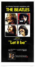 "Movie Posters:Rock and Roll, Let It Be (United Artists, 1970). Three Sheet (41"" X 81""). Rock andRoll.. ..."