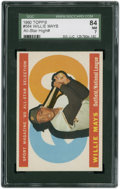 Baseball Cards:Singles (1960-1969), 1960 Topps Willie Mays #564 SGC 84 NM 7....