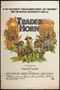 "Movie Posters:Adventure, Trader Horn (MGM, 1973). Poster (40"" X 60""). Adventure.. ..."