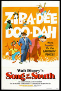 "Movie Posters:Animated, Song of the South (Buena Vista, R-1972). One Sheet (27"" X 41"").Animated.. ..."