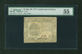 Colonial Notes:Continental Congress Issues, Continental Currency May 20, 1777 $7 PMG About Uncirculated 55....