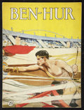 "Movie Posters:Historical Drama, Ben-Hur (MGM, 1926). Program (Multiple Pages, 9"" X 12""). HistoricalDrama.. ..."